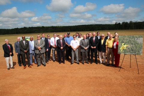 Secretary Ball and VEDP's Moret Share Mega Site Update and Tour Southern Virginia