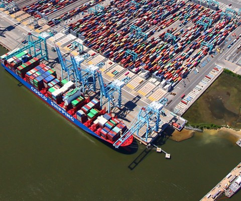 Port of Virginia completes $320 mil expansion